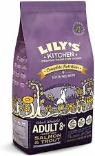 Lily's Kitchen Senior Salmon and Trout Dry Dog Food, 7 kg