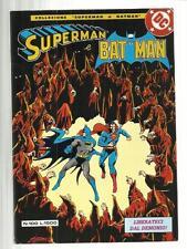 SUPERMAN E BATMAN 100 DC 1984