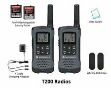 Motorola Talkabout T200TP Walkie Talkie Set Digital 20 Mile Two Way Radio 2 Pack