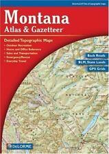Montana Atlas & Gazetteer [Delorme Atlas & Gazetteer]
