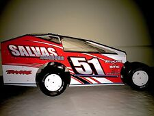 2018 Salvas MudBoss PreCut Dirt Modified Body For Traxxas Slash