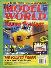 RC Model World - Radio Controlled Aircraft, May 2000 -Free Plan PeTe 10
