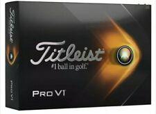 New listing TITLEIST PRO-V1 GOLF BALLS [12] ONE DOZEN - BRAND NEW IN BOX