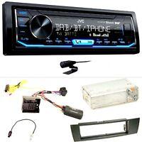 JVC KD-X451DBT DAB+ Bluetooth Einbauset für BMW E90 E91 E92 E93