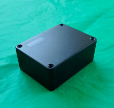 "Project Box Electronic Enclosure L=4"" , W=3"", H=1-5/8"". Black Plastic"