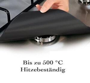 FireMat 4x Kochfeld Protector Universal Brandschutz Unterlage für Gas Brenner