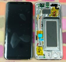 GENUINE GOLD SAMSUNG SM-G950F GALAXY S8 SCREEN AMOLED 2k LCD FRAME DISPLAY
