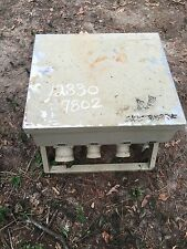 MILITARY SURPLUS 5 SHELTER TENT POWER DISTRIBUTION BOX