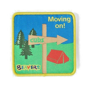 Beaver Scouts Moving On Fun Badge. OFFICIAL SUPPLIER.