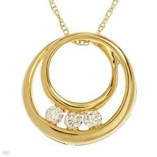 Diamond 10k Fine Necklaces & Pendants