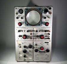 TEKTRONIX TYPE 555 DUAL-BEAM OSCILLOSCOPE EARLY 1959-60 SERIAL #000631