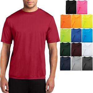 Men's Moisture Wicking T-Shirt Workout Performance Tee S, M, L, XL, 2X, 3X, 4X