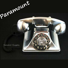 Paramount Corded 1929 Brittany Chrome Reproduction Telephone Phone Antique Retro