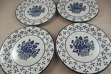 Midwinter China COUNTRY BLUE Bread Plates - Set of Four