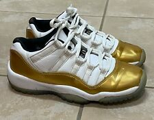 Nike Air Jordan 11 XI Closing Ceremony Metallic Gold 528896-103 Youth Size 4Y