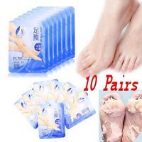 tenPairs Exfoliating Peel Foot Mask Baby Soft Feet Remove Callus Hard Dead Skin