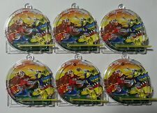 12 Dinosaur Pinball Games Party Bags Favours Toys Vending Novelty