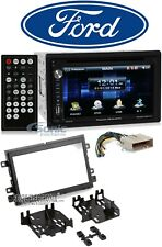 Power Acoustik Car In-Dash Receiver Monitor w/Bluetooth For 11-15 Ford F-650/750