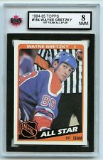 1984-85 Topps #154 Wayne Gretzky AS Graded 8.0 NMM (*G2020-163)