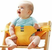 Baby Dining Chair Safety Belt Portable Seat Lunch Chair Seat Stretch Wrap Feedin