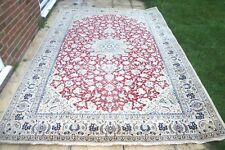 £7500 Liberty London Nain Isphahan Naeen hand knotted wool 325x 220 cm