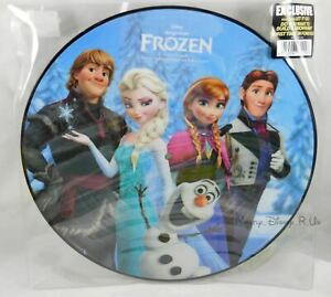 New Disney Limited Edition Frozen LP Soundtrack Music Record Hot Topic Exclusive