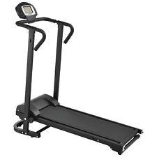 B-WARE Mechanisches Laufband mit LCD-Display Fitnessgerät Klappbar Heimtrainer