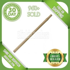 """34"""" SLEDGE HAMMER HANDLE SOLID WOODEN WOOD UNIVERSAL HEAVY DUTY LONG SPARE SHAFT"""