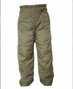 British Army Thermal Trousers PCS Stuff Sack Latest MTP Warm Carp Fishing Olive