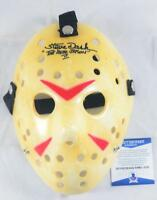 STEVE DASH SIGNED JASON VOORHEES MASK FRIDAY THE 13TH 2 BECKETT BAS COA 019