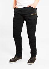 John Doe Cargo Stroker XTM Jeans Schwarz Länge: 32 Motorrad Jeans 34/32 NEU++