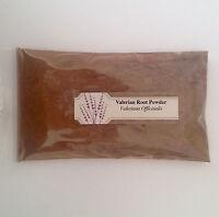 1 oz. Valerian Root Powder (Valeriana Officinalis) <28 g / .063 lb>