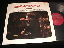 CHOPIN<>ASHKENAZY IN CONCERT<>Lp VINYL~NETH. Pressing~LONDON CS 6794