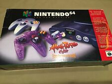 Nintendo 64 N64 Video Game Console Console (NTSC) Unused Brand New