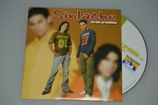 Sinlache - Jardin prohibido. CD-SINGLE PROMO
