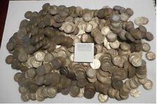 NL* VEIII Lotto da 50 Pezzi di 5 lire Argento modulo Aquilotto date varie miste