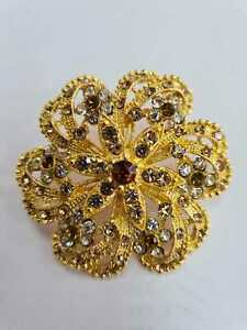 Diamante Fashion Brooch Pack of 6 Women Accesories Wedding Chair Cover Decor