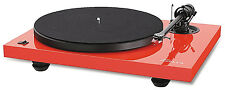 Music Hall MMF2.2LE Ltd.Edition Ferrari Red Turntable-$100 cartridge/dustcover