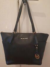 Michael Kors Black Saffiano Leather Large Tote Shopper Shoulder Bag