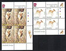 Namibia 1999 Dik-dik/Squirrel/Deer/Animals/Nature/Wildlife 2v set c/b (n16613)