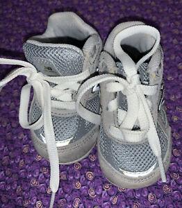 New Balance 990 Grey Infant Crib Shoe Size 2
