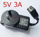 AU plug DC 5V 3A New AC Converter Adapter Power Supply Charger 3000mA USB 15W