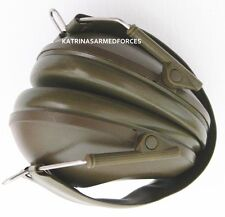 BRITISH ARMY EAR DEFENDERS MILITARY HUNTING SHOOTING PROTECTIVE WEAR