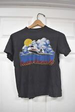 Vintage Foghat Touring America Usa T-Shirt 1981 Concert Band Tee Airplane Medium