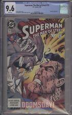 SUPERMAN: MAN OF STEEL #19 - CGC 9.6 - DOOMSDAY - 1361891012