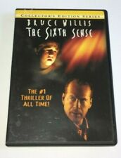 """The Sixth Sense"" (Dvd 1999) Collector's Edition Series - Bruce Willis- Like New"