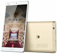"Huawei MediaPad M3 8.4"" Wi-Fi 32GB Gold 8MP 4GB RAM Android Tablet By FedEx"