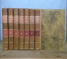 CREQUY ANCIEN REGIME SOUVENIRS DE LA MARQUISE DE CREQUI (7 VOL. 1834-35, E.O.).