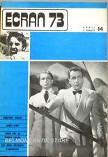 Revue ECRAN 73-N°14- Humphrey Bogart-James Ivory-cinéma italien-liste animation