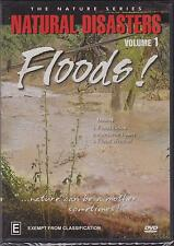 NATURAL DISASTERS - VOLUME 1 - FLOODS! - DVD - NEW -